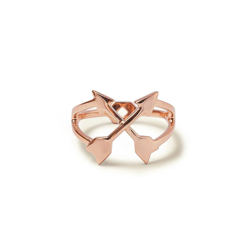 Boho Ring Jewelry kaitlyn-bristowe 925 Silver Rose Gold Plated XS - 49 (15.6mm)
