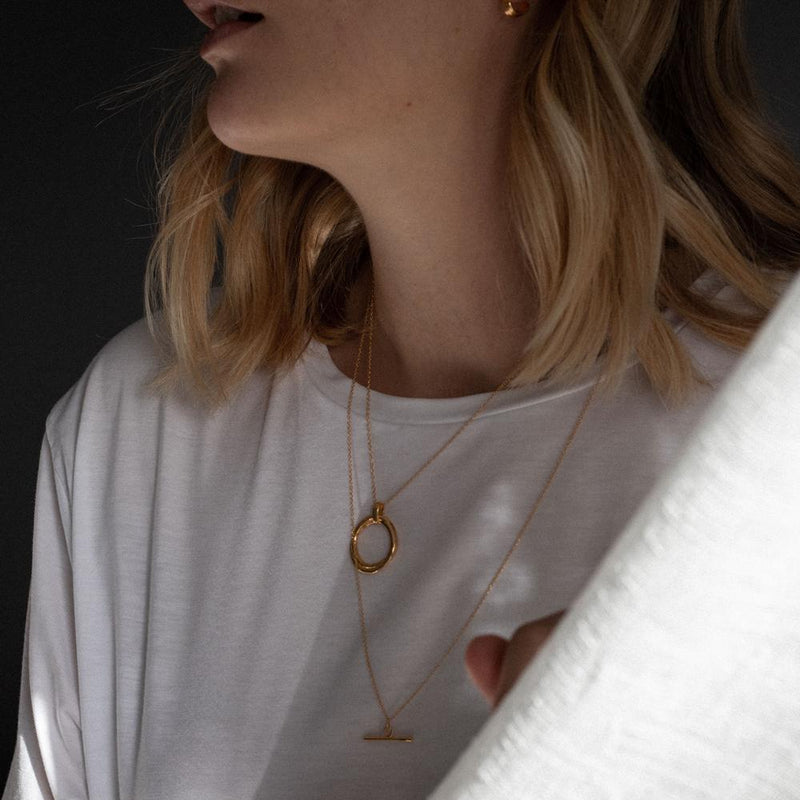 Bonds Rope Necklace - Solid Gold Jewelry Stilnest
