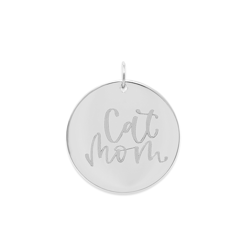 Cat Mom Anhänger #mommycollection Jewelry frau-hoelle 925 Silver