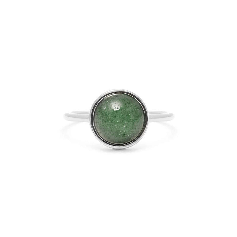 Chakra Anahata Ring Jewelry stilnest Rhodium Plated 925 Silver XS - 49 (15.6mm)