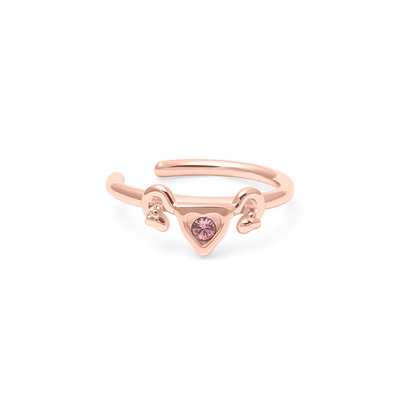 Cuterus Earcuff Jewelry einfach-inka 925 Silver Rose Gold Plated