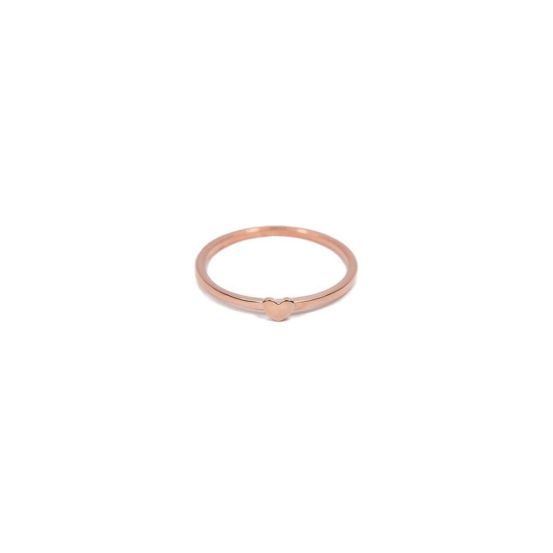 Delicate Hearts #1 Jewelry anna-laura-kummer 925 Silver Rose Gold Plated XS - 49 (15.6mm)