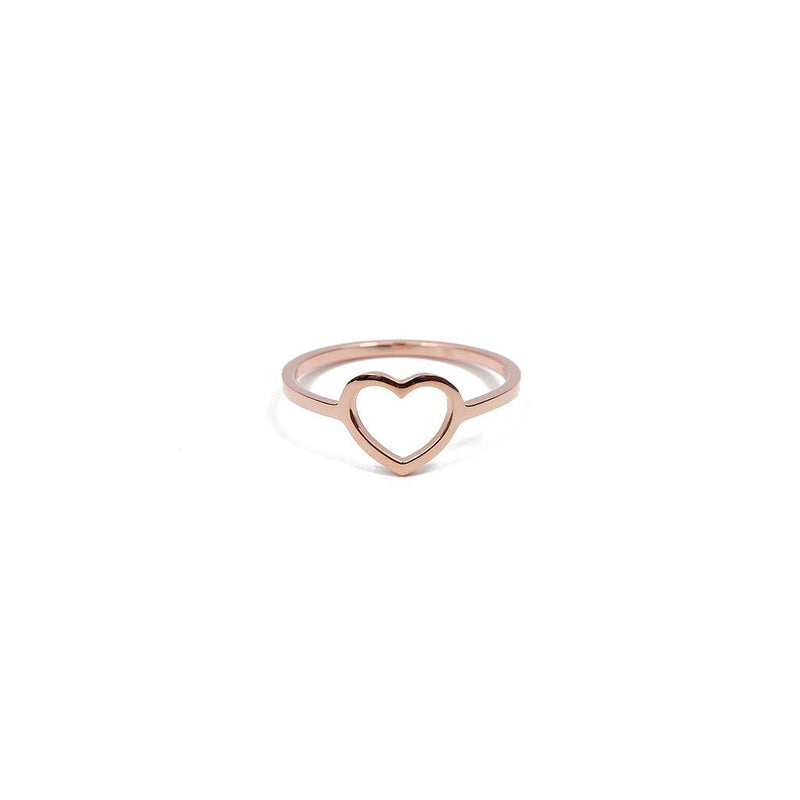 Delicate Hearts #2 Jewelry anna-laura-kummer 925 Silver Rose Gold Plated XS - 49 (15.6mm)