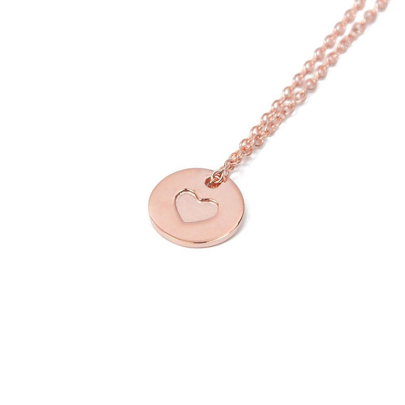 Delicate Hearts #5 Jewelry anna-laura-kummer 925 Silver Rose Gold Plated