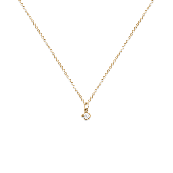 Diamond Lux Kette Jewelry stilnest 14ct Solid Gold