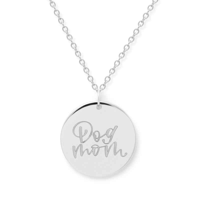 Dog Mom Kette #mommycollection Jewelry frau-hoelle 925 Silver S (45cm)