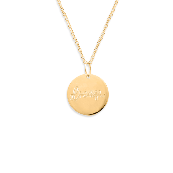 Dream Kette #femboss Jewelry frau-hoelle 24ct Gold Vermeil S (45cm)