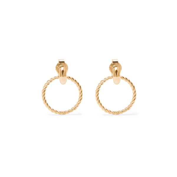 Dune Anhänger Set + Tide Studs Jewelry useless 24ct Gold Vermeil