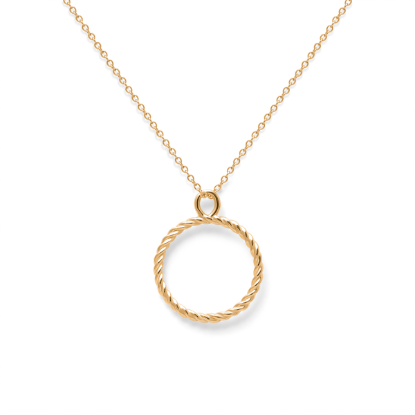 Dune Kette Jewelry useless 24ct Gold Vermeil S (45cm) Ankerkette