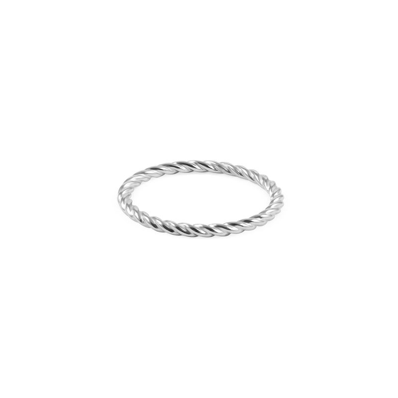 Dune Ring Jewelry useless 925 Silver XS - 49 (15.6mm)