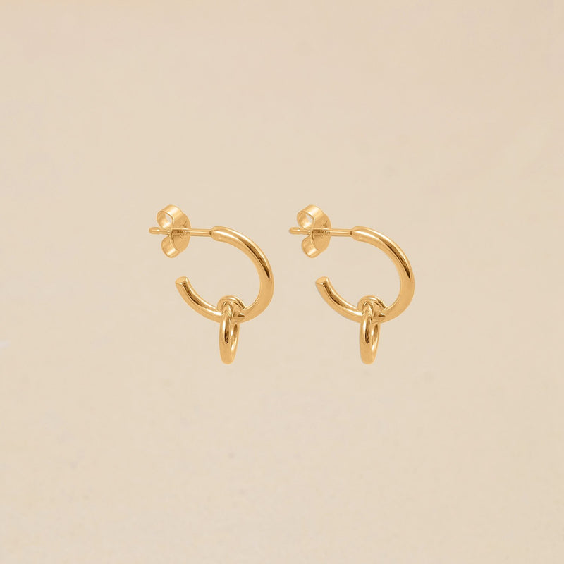 Duo Hoop Ohrringe Jewelry stilnest
