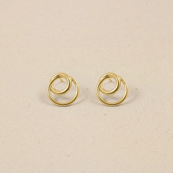 Duo Ohrringe 14k Massivgold Jewelry stilnest 14k Massivgold