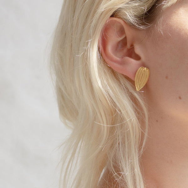Eden Cepa Earrings - Solid Gold Jewelry Stilnest