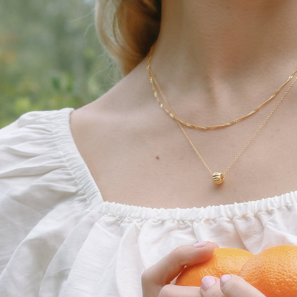 Eden Citrus Kette Jewelry Stilnest