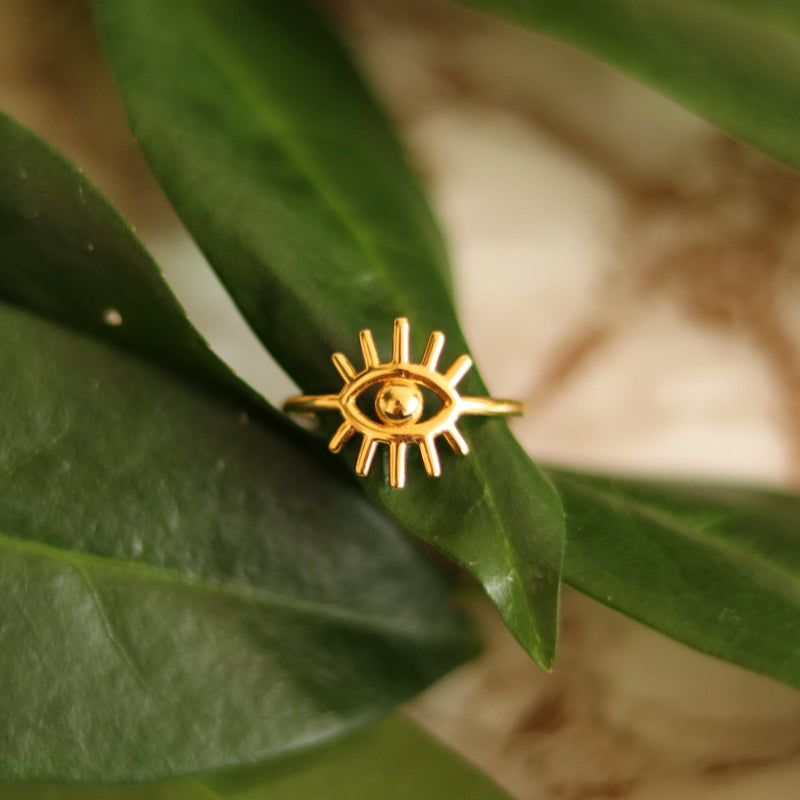 Eye of Clarity - Ring Jewelry kris-the-lioness