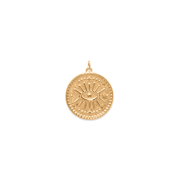 Eye of Intuition - Anhänger Jewelry kris-the-lioness 24ct Gold Vermeil