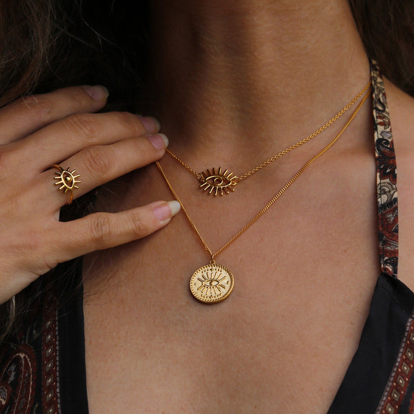 Eye of Intuition - Kette Jewelry kris-the-lioness