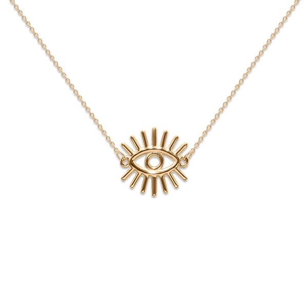 Eye of Truth - Kette Jewelry kris-the-lioness 24ct Gold Vermeil