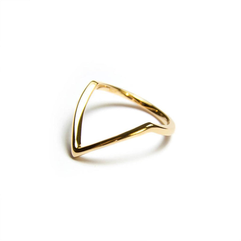 Fine Forms #1 Jewelry nilam-farooq 925 Silver Gold Plated S - 52 (16.6mm)