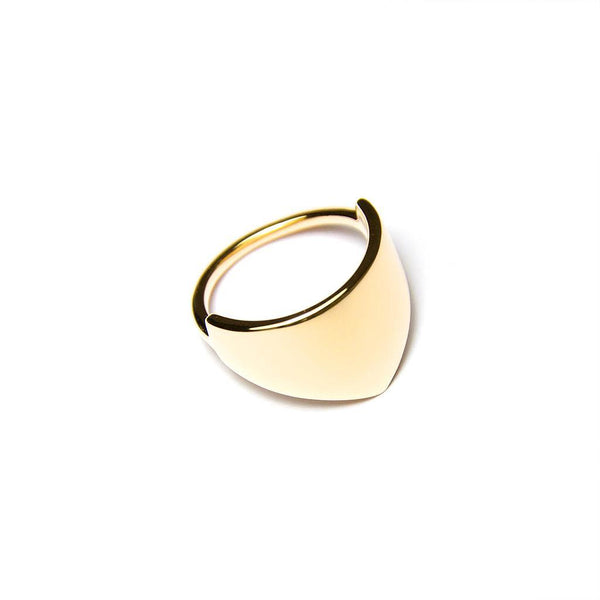 Fine Forms #3 Jewelry nilam-farooq 925 Silver Gold Plated S - 52 (16.6mm)
