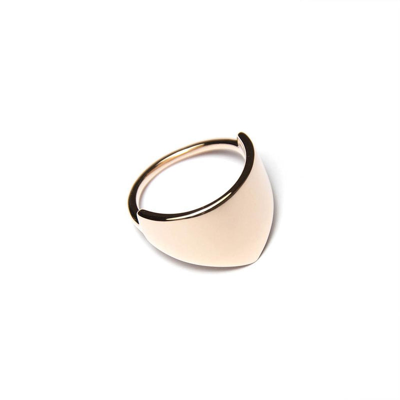 Fine Forms #3 Jewelry nilam-farooq 925 Silver Rose Gold Plated XS - 49 (15.6mm)