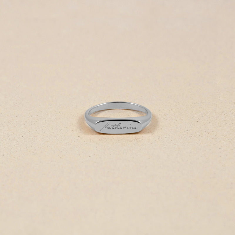 First Name Ring Jewelry stilnest 925 Silver XS - 49 (15.6mm)
