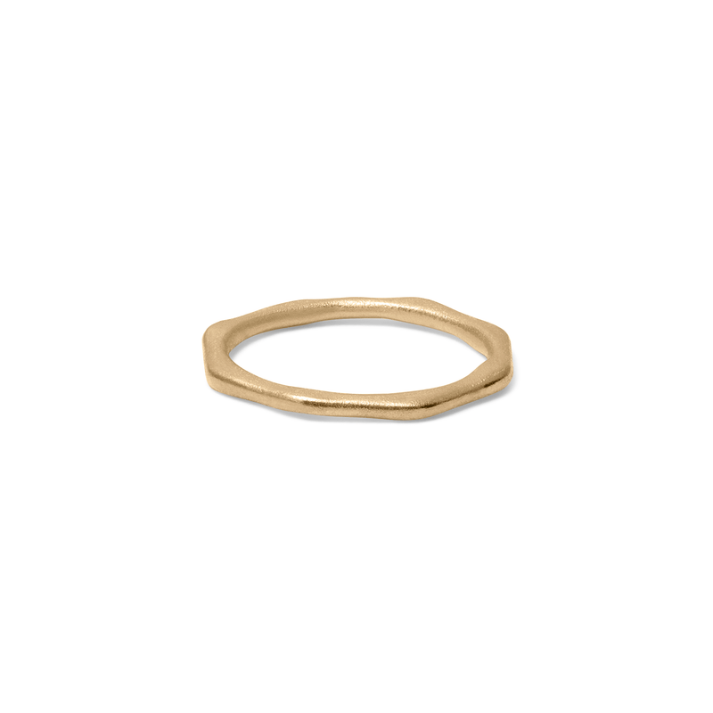 Fluid Ring Solid Gold 14k Jewelry stilnest