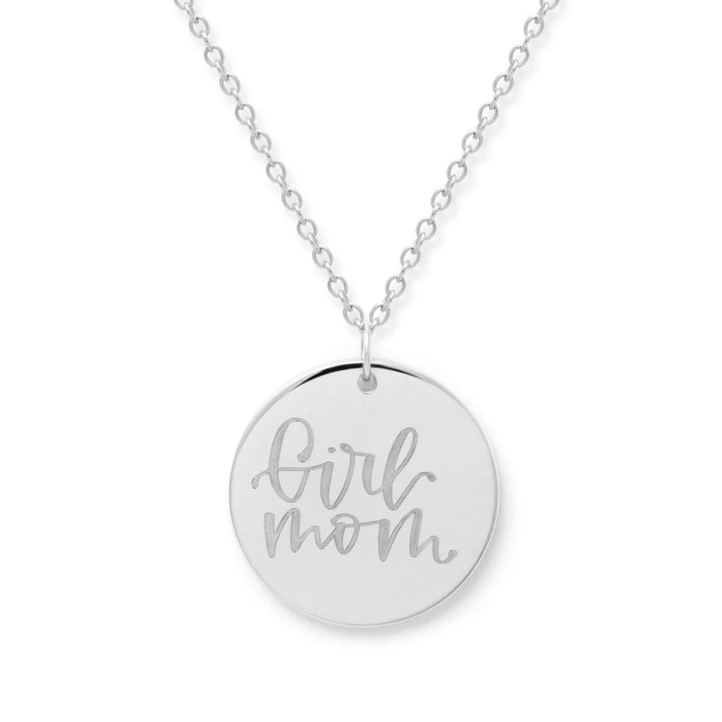 Girl Mom Kette #mommycollection Jewelry frau-hoelle 925 Silver S (45cm)