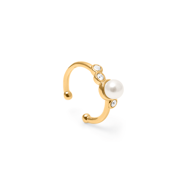 Grace Earcuff Kristall Jewelry anna-frost 925 Silver Gold Plated