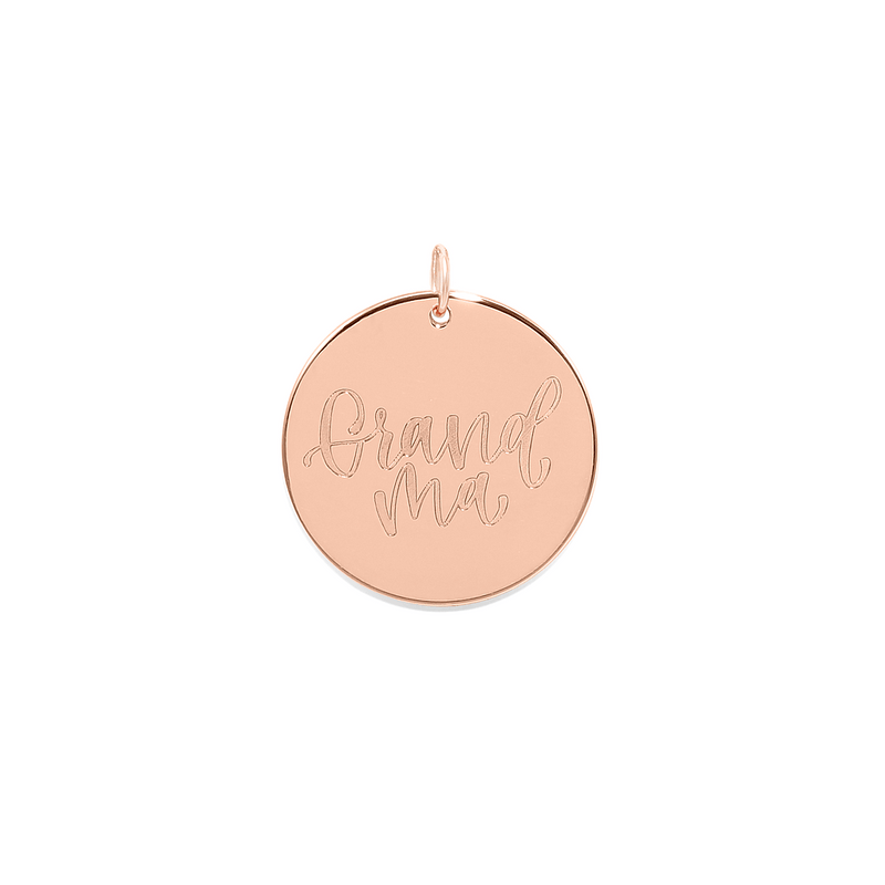 Grandma Anhänger #mommycollection Jewelry frau-hoelle 925 Silver Rose Gold Plated