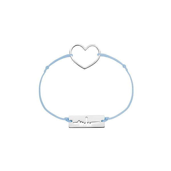 Heart Charm Jewelry marina-hoermanseder 925 Silver Blue