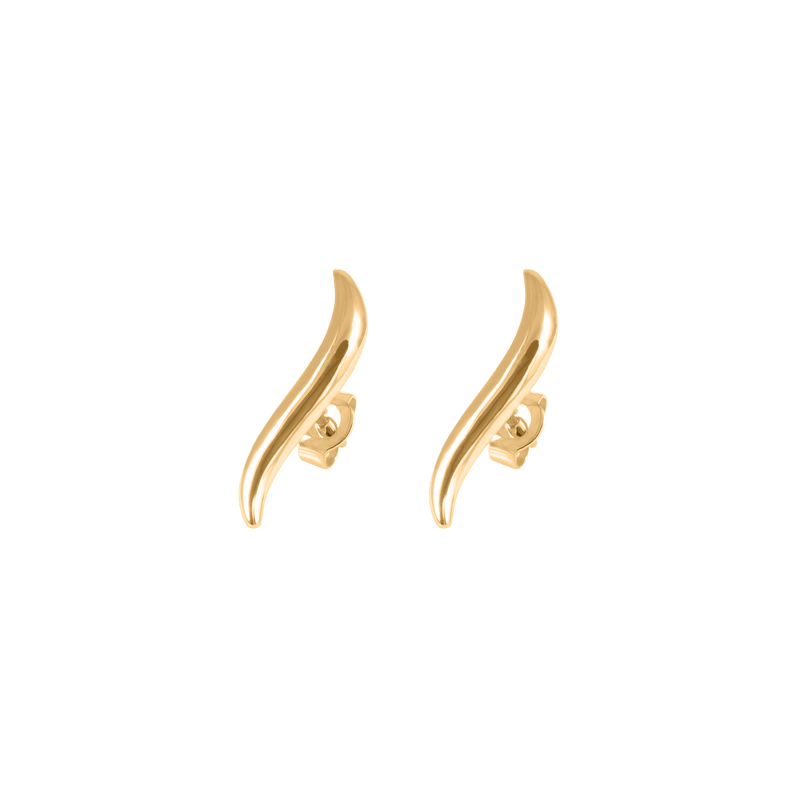 Heirloom Earrings Jewelry Stilnest 24ct Gold Vermeil