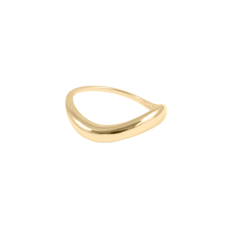 Heirloom Ring - Solid Gold Jewelry Stilnest 14ct solid Gold XS - 49 (15.6mm)
