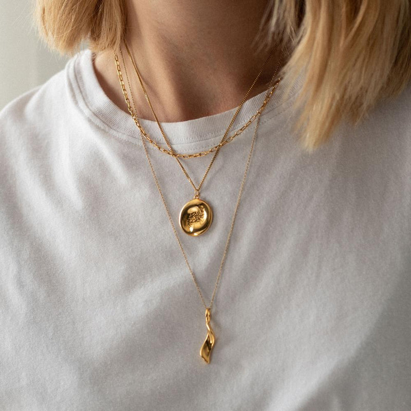 Heritage Necklace - Solid Gold Jewelry Stilnest
