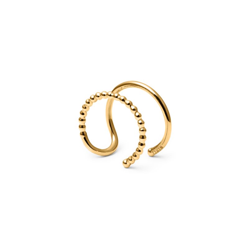 Home Earcuff Jewelry luna-raye 925 Silver Gold Plated