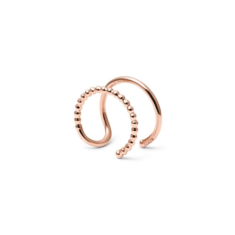 Home Earcuff Jewelry luna-raye 925 Silver Rose Gold Plated