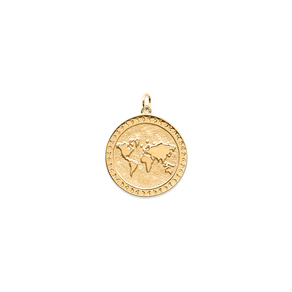 Home World Anhänger Jewelry taylor-lashae 24ct Gold Vermeil