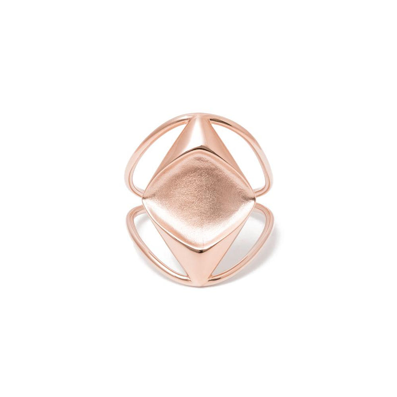 JL Charlotte Ring Jewelry justine-leconte 925 Silver Rose Gold Plated XS - 49 (15.6mm)