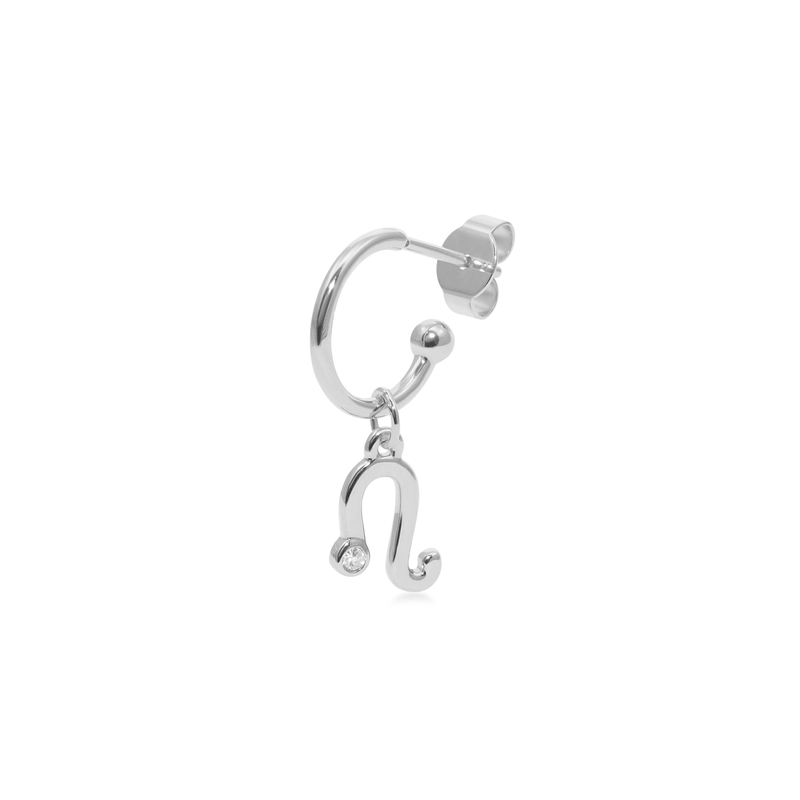 Leo Hoop Jewelry luisa-lion 925 Silver Single