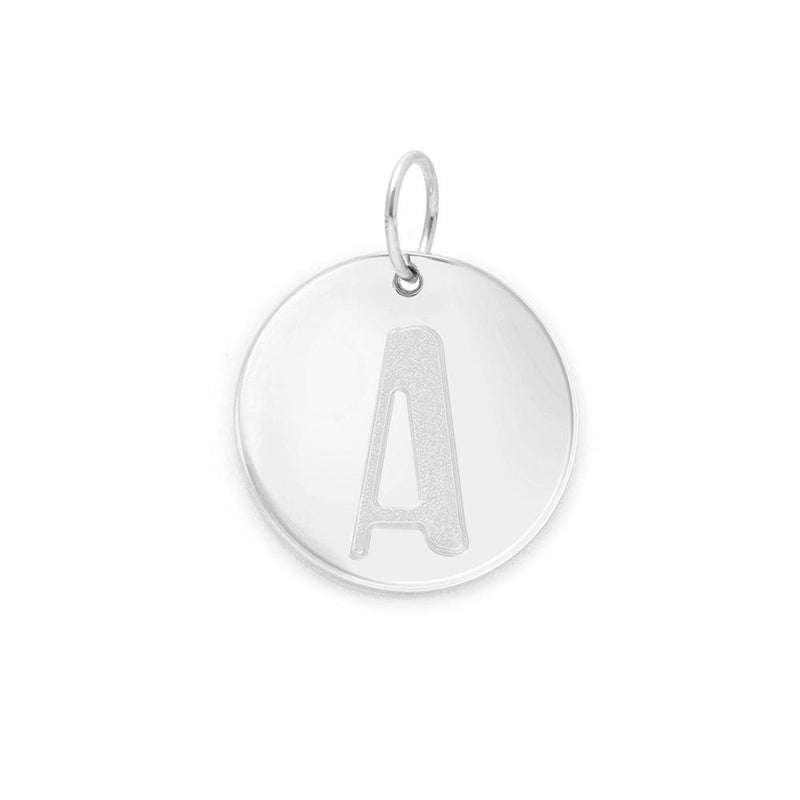 Letter A-Z Anhänger - 925 Silver Jewelry frau-hoelle 925 Silver A