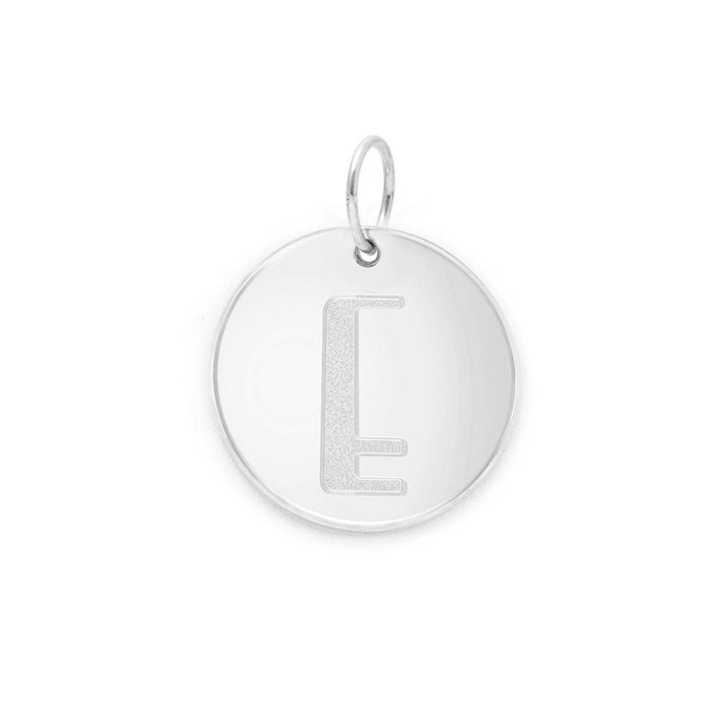 Letter A-Z Anhänger - 925 Silver Jewelry frau-hoelle 925 Silver E