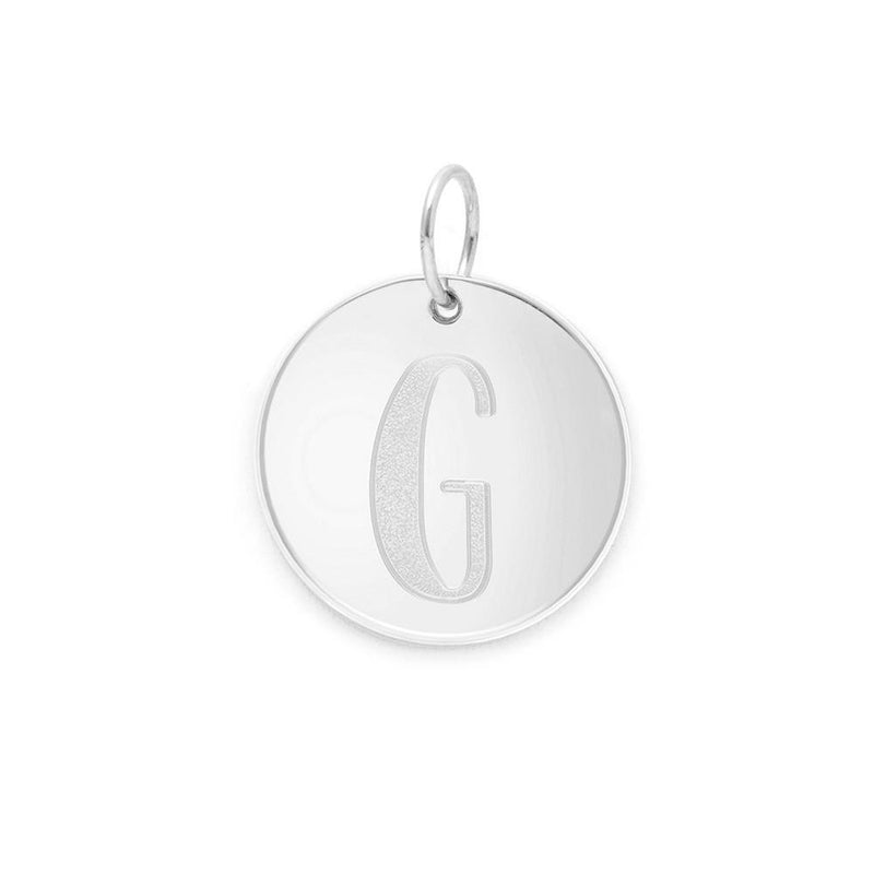 Letter A-Z Anhänger - 925 Silver Jewelry frau-hoelle 925 Silver G