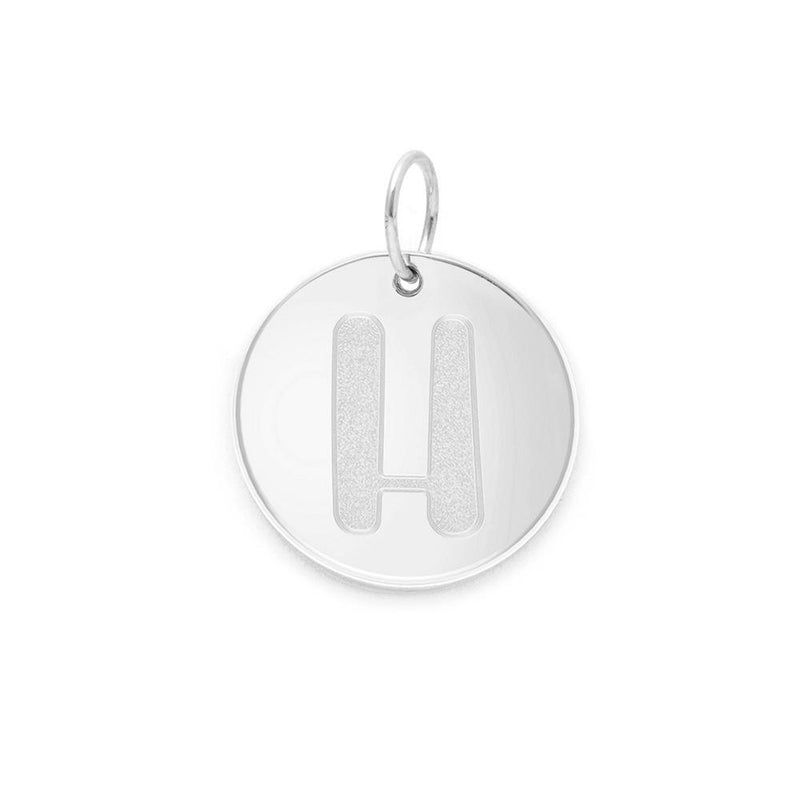 Letter A-Z Anhänger - 925 Silver Jewelry frau-hoelle 925 Silver H