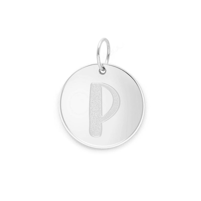 Letter A-Z Anhänger - 925 Silver Jewelry frau-hoelle 925 Silver P