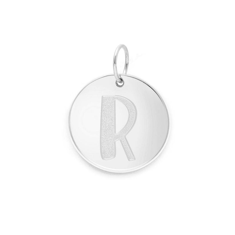 Letter A-Z Anhänger - 925 Silver Jewelry frau-hoelle 925 Silver R