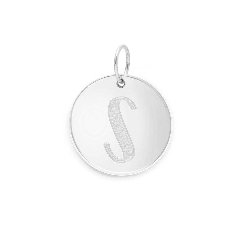 Letter A-Z Anhänger - 925 Silver Jewelry frau-hoelle 925 Silver S