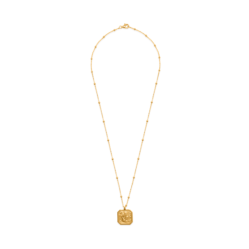 London Arsinoe II Medal Kette Jewelry sammi-maria 24ct Gold Vermeil S (45cm)