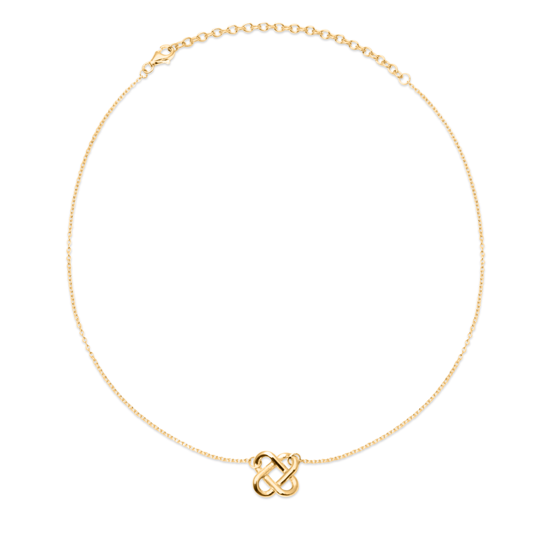 Love Knot Choker Jewelry jill-and-mia