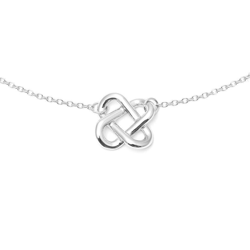 Love Knot Choker Jewelry jill-and-mia 925 Silver