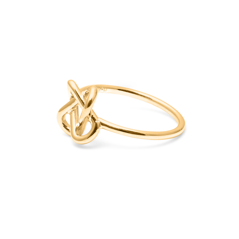 Love Knot Ring Jewelry jill-and-mia
